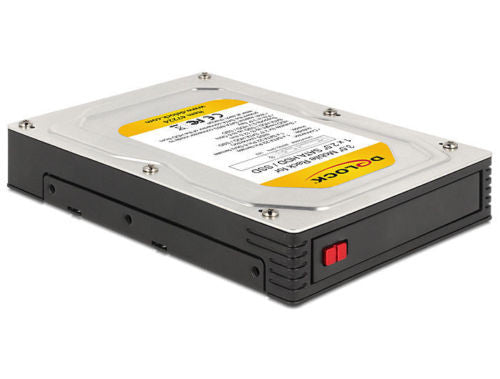 3.5″Mobile Rack for 1x 2.5″ SATA HDD / SSD install 2.5″ drive into 3.5″ or 5.25″ - Optiwire.ie
