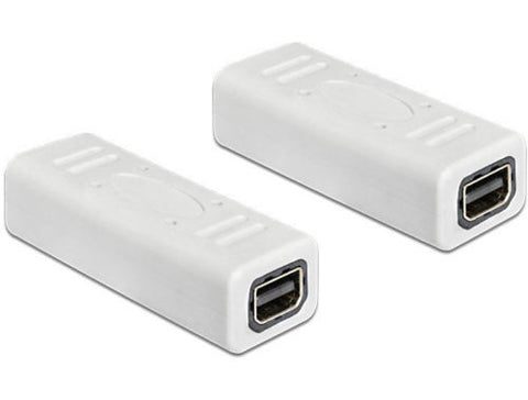 Delock Adapter mini Displayport 1.2 female > female Gender Changer mini DP white - Optiwire.ie