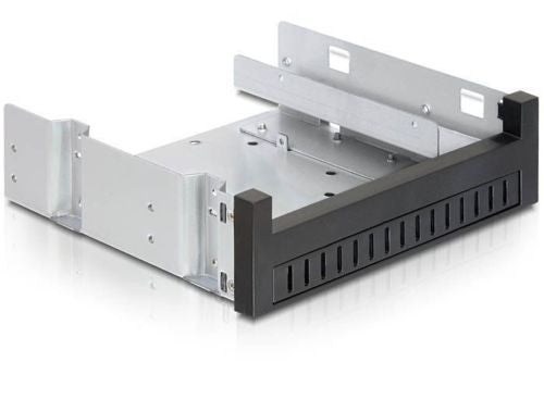 Delock 5.25″ Installation Frame for 1 x 5.25″ Slim drive + 1 x 2.5″ or 3.5″ HDD - Optiwire.ie