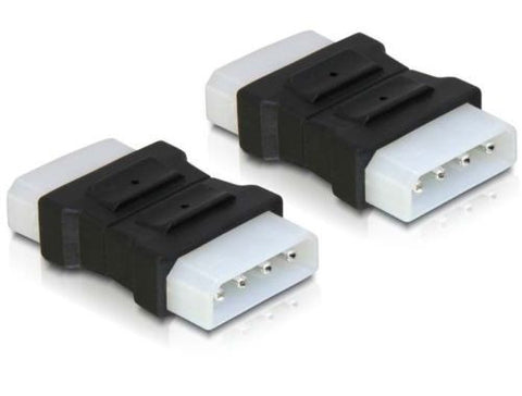 Delock Adapter 4 pin Molex male-male gender changer converter IDE 5.25 - Optiwire.ie