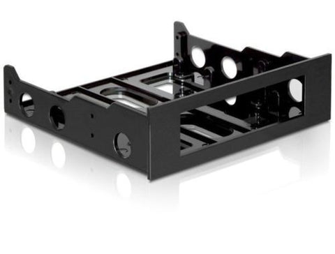 Delock Installation frame 3.5 > 5.25 for 3.5 device or ZIP drive plastic black - Optiwire