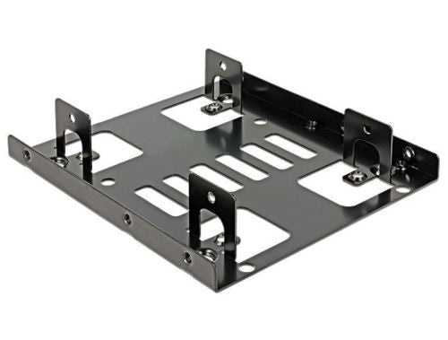 Delock Installation frame 3.5″ > 2 x 2.5″ install 2x2.5″HDDs instead of one 3.5″ - Optiwire.ie