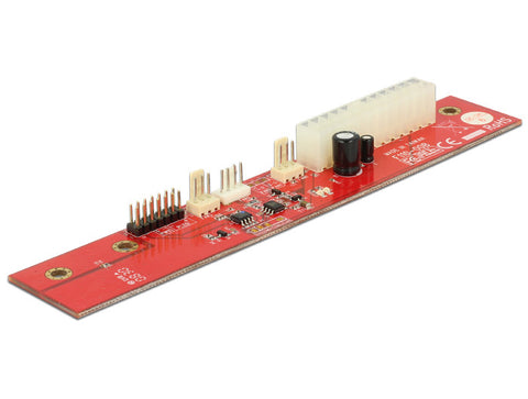 Delock ATX Power Supply Controller bypass motherboard for a fan and LED control - Optiwire.ie