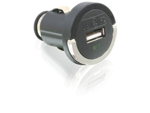 Car Charger / Adapter 12V - 24V DC > USB Output iPod iPhone Samsung HTC 5V 1.2A - Optiwire.ie