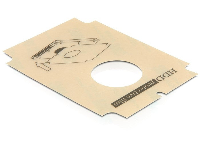 Delock 2.5 SATA Hard Drive Protective Film For one 2.5 SATA HDD 3M sticker - Optiwire.ie