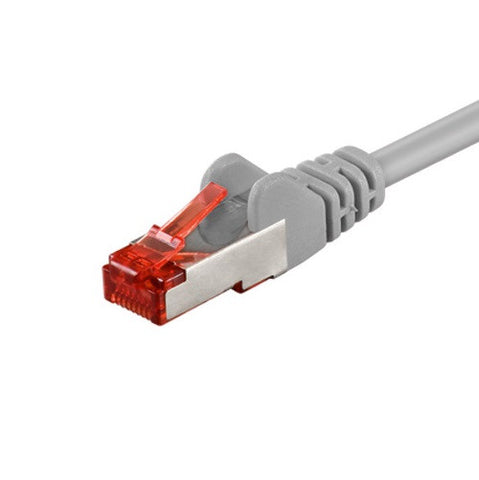 Cat 6 LAN Ethernet Network RJ45 SSTP PIMF Straight Cable EIA/TIA 568 CU 0.5m - Optiwire.ie