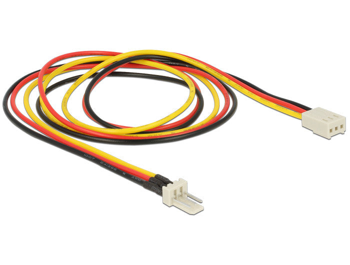 Delock fan / cooler Power Extension Cable 3 pin male > 3 pin female (fan) 60 cm