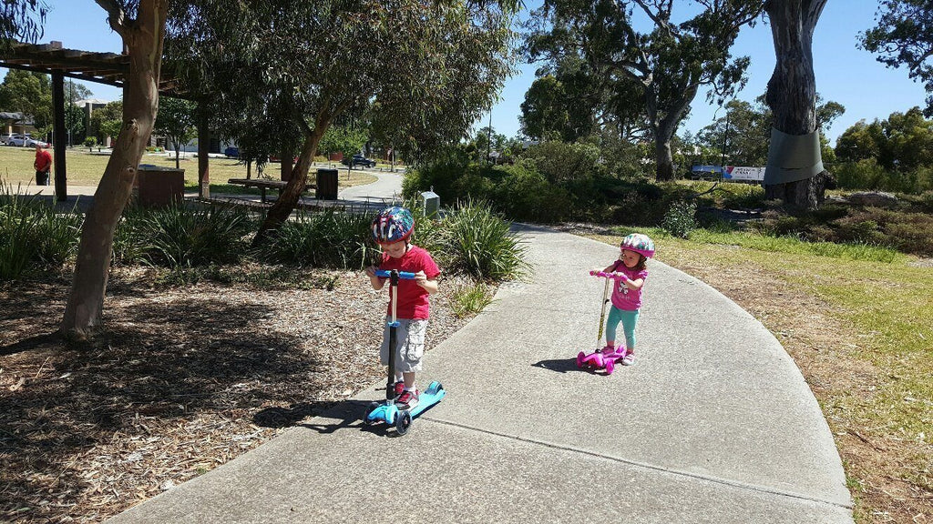 Safety Gear for Balance Bikes and Scooters