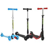 Kids Scooters with Light-Up Wheels