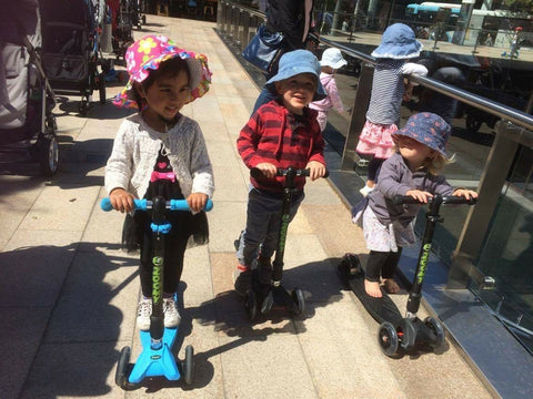 Scooter for active play