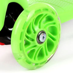 Green Scooter Wheel