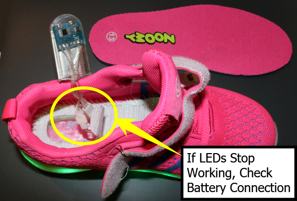 Zoomy Shoe Troubleshooting