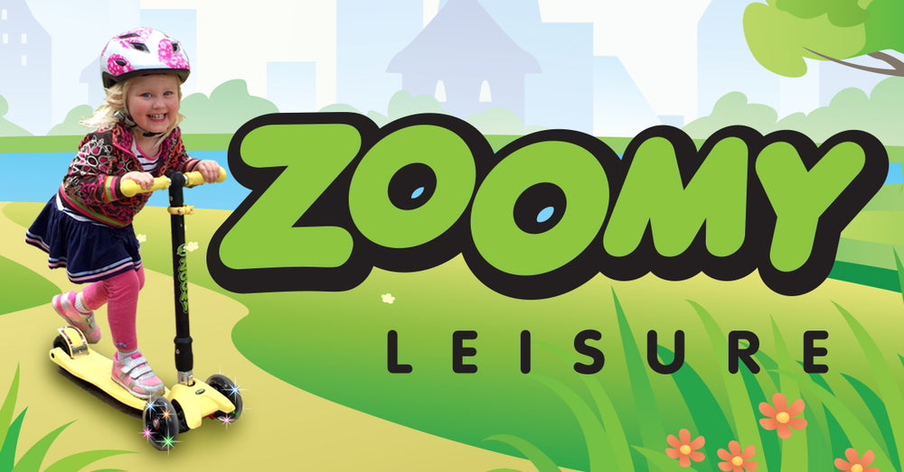 Zoomy Leisure - Kids Scooters and Balance Bikes