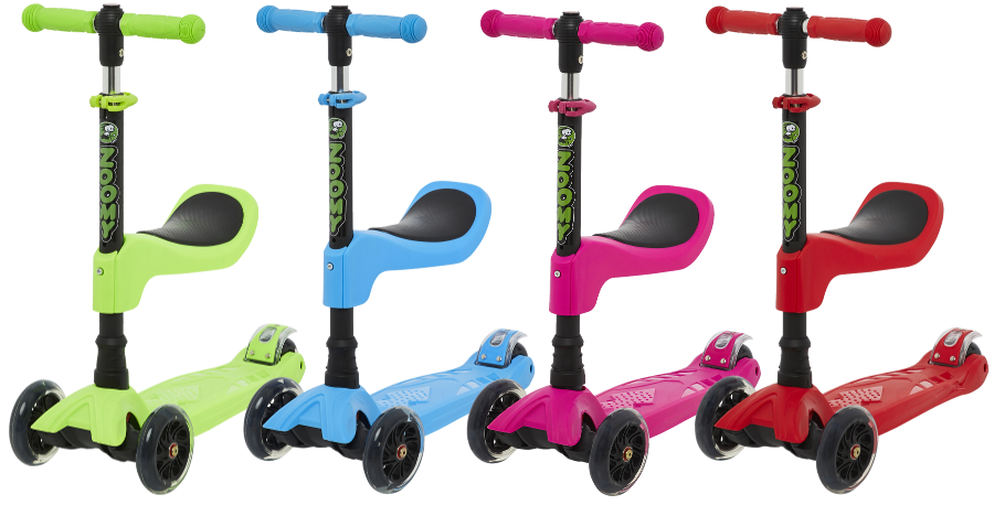 Zoomy Leisure 2-in-1 Scooter with Removable Seat