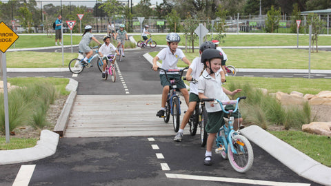 Heffron Pedal Park bike and scooter track