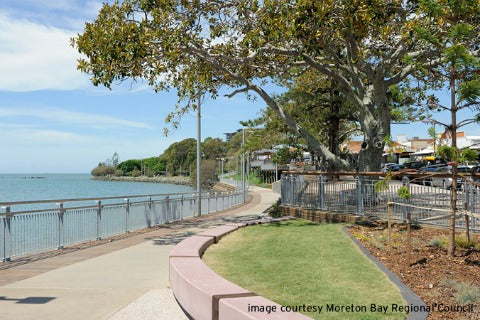 Redcliffe Foreshore Kids Bike and Scooter paths