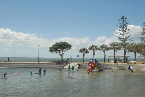 Wynnum Beach kids pool
