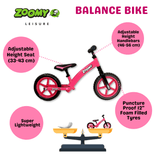 Aluminium Balance Bike for Kids Balance Bike Zoomy Leisure