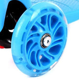 Scooter Wheels (Individual) Scooter Zoomy Leisure Blue 110 mm front 1