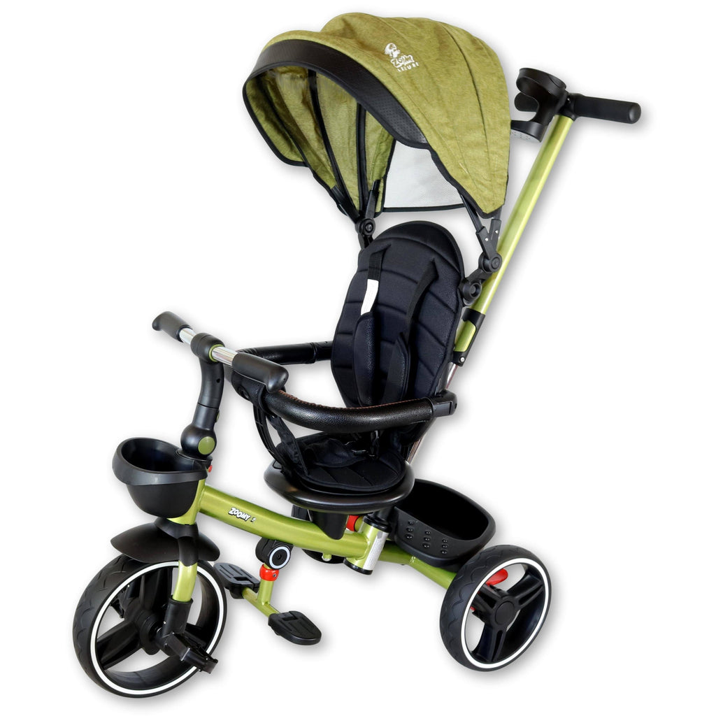 Kids Push Trike Trike Zoomy Leisure Green