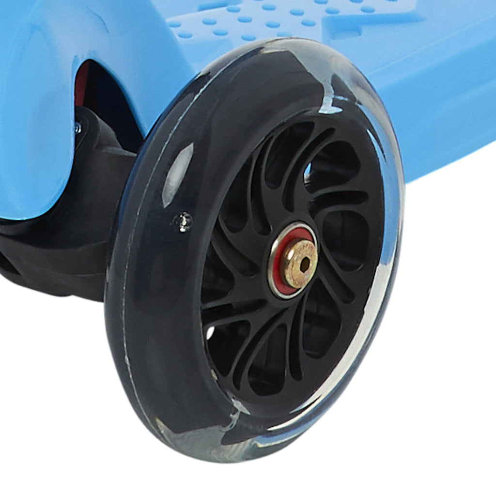 2-in-1 Scooter Wheels (Individual) Scooter Wheel Zoomy Leisure Clear / Black 120 mm front 1