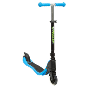 Kids 2 Wheel Scooter With Light-Up Wheels Scooter Zoomy Leisure Blue