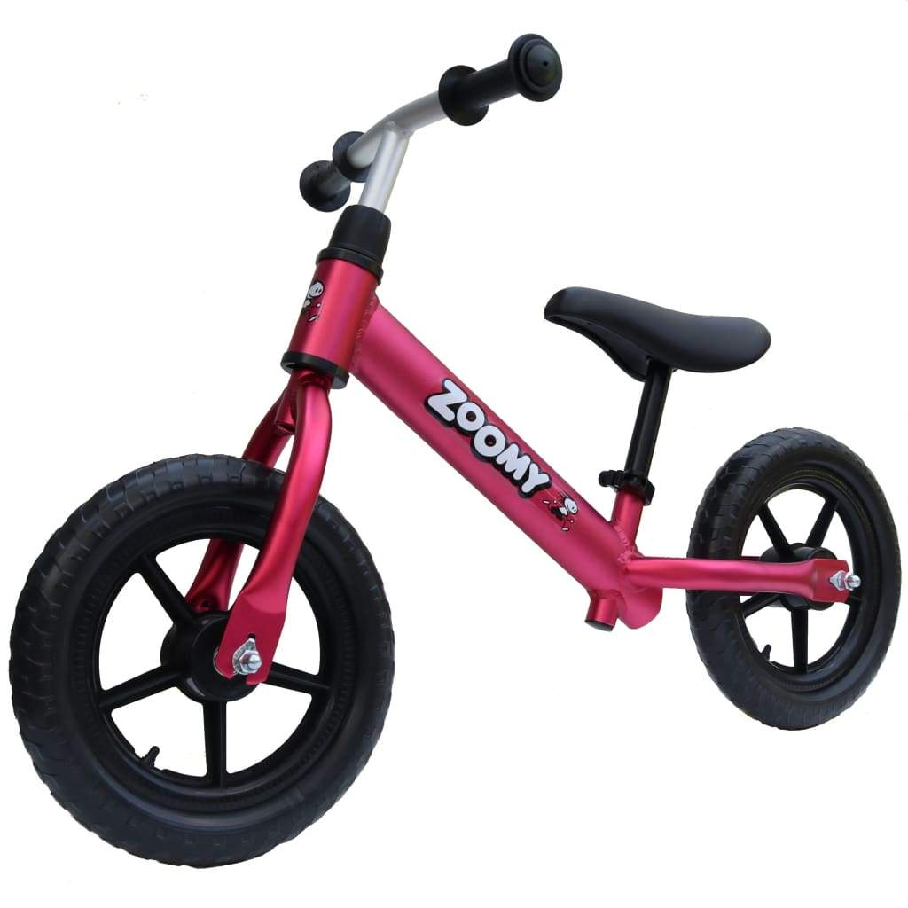 Aluminium Balance Bike for Kids Balance Bike Zoomy Leisure Wine-Red