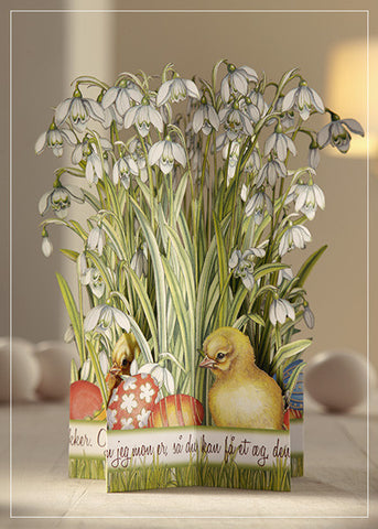 Easter Greeting Card - Post Danmark