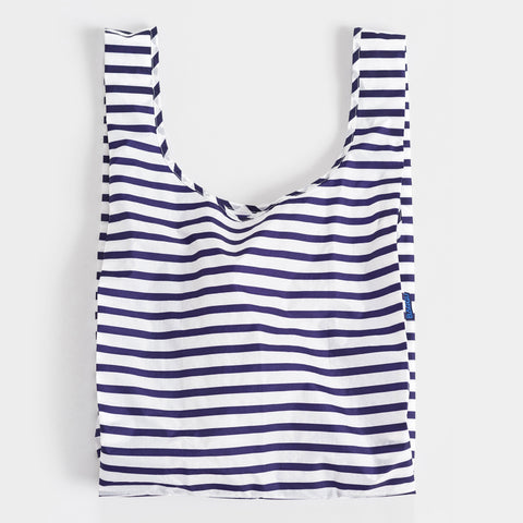 BAGGU Standard BAGGU re-usable shopping bag in Sailer Stripe