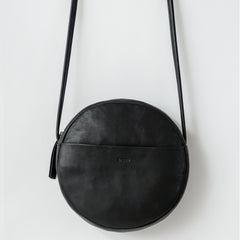 BAGGU Circle Purse in Black