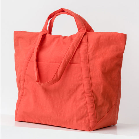 BAGGU Travel Cloud Bag in Poppy