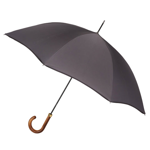 Gentlemen's Umbrella Elm with Slate Grey and a Pitch Black Trim
