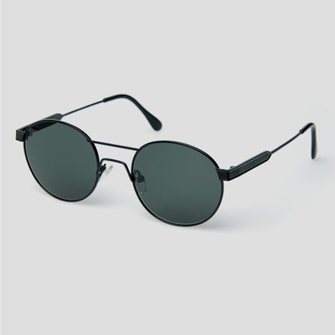 Han Kjøbenhavn Green Sunglasses in Matte Black