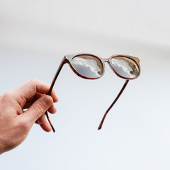 The Campania Editions L+B No.2 Sunglasses in Burnt Umber