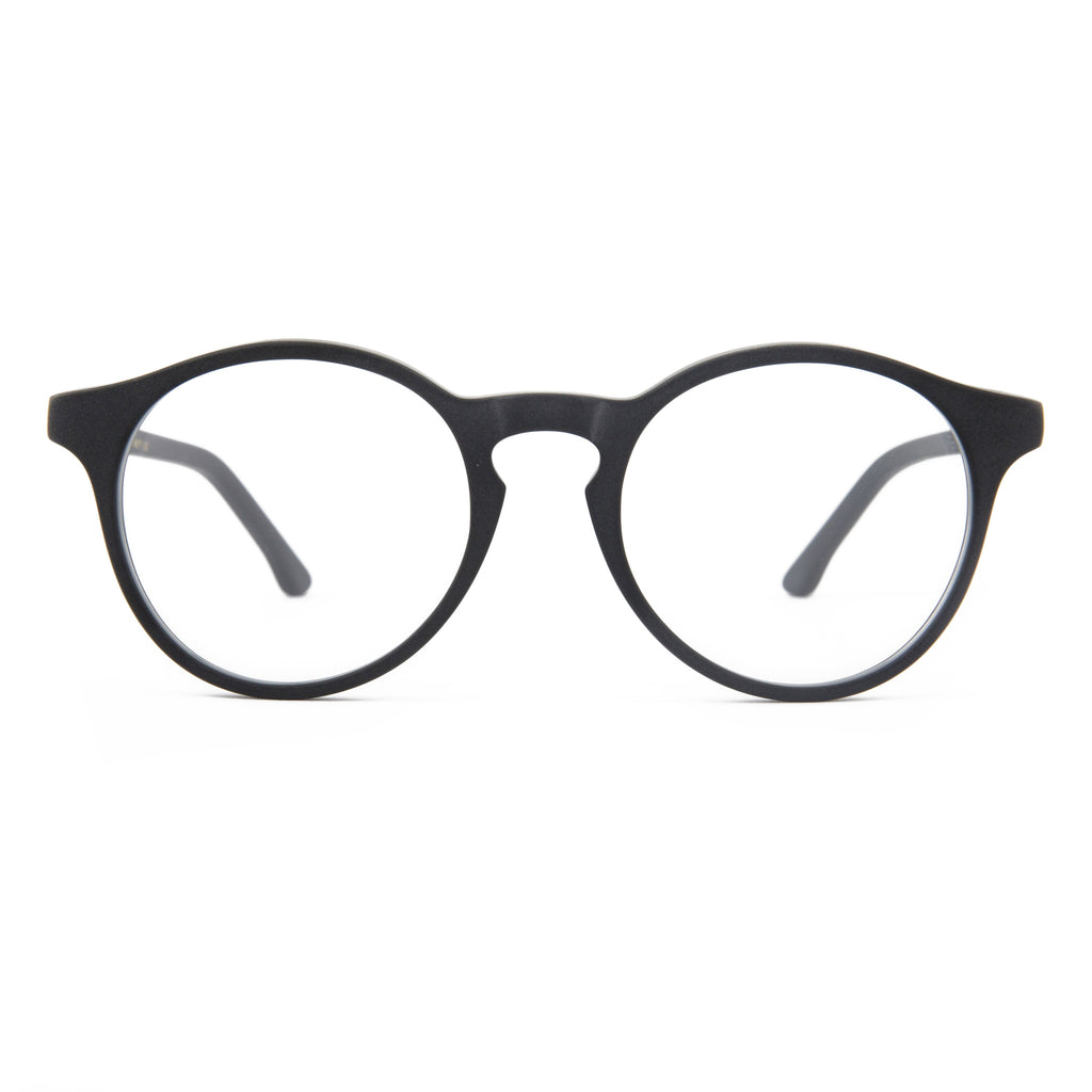 The Campania Editions L+B No.1 Opticals in Smoked Black