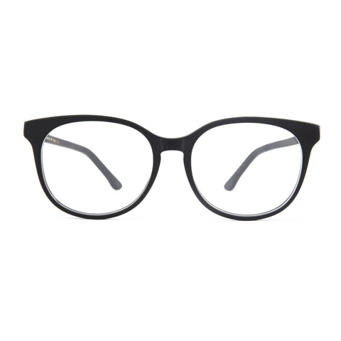 The Campania Editions L+B No.2 Opticals in Smoked Black