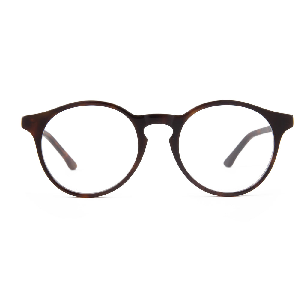 The Campania Editions L+B No.1 Opticals in Burnt Umber