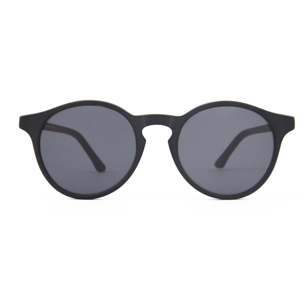 The Campania Editions L+B No.1 Sunglasses in Smoked Black