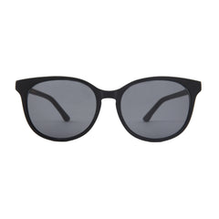 The Campania Editions L+B No.2 Sunglasses in Smoked Black