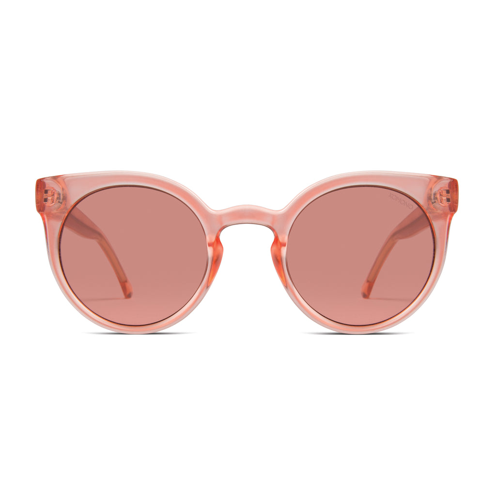 Komono Lulu Peach Sunglasses