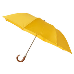 Telescopic Umbrella Smooth Maple with Cornfield Yellow