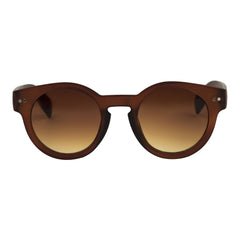 Cardinal Editions Round Sunglasses in Smoked Brown