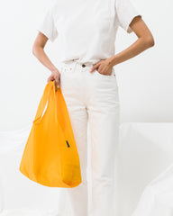 BAGGU Standard BAGGU re-usable shopping bag in Yolk