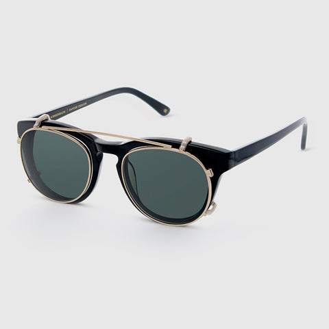 Han Kjøbenhavn Timeless Clip-on Sunglasses in Black