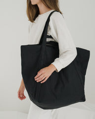 BAGGU Travel Cloud Bag in Black