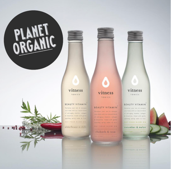 Vitness launches at Planet Organic!