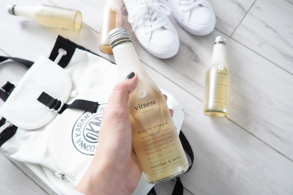 Vitness collagen drink: Gym Bag Essential by YCB Magazine