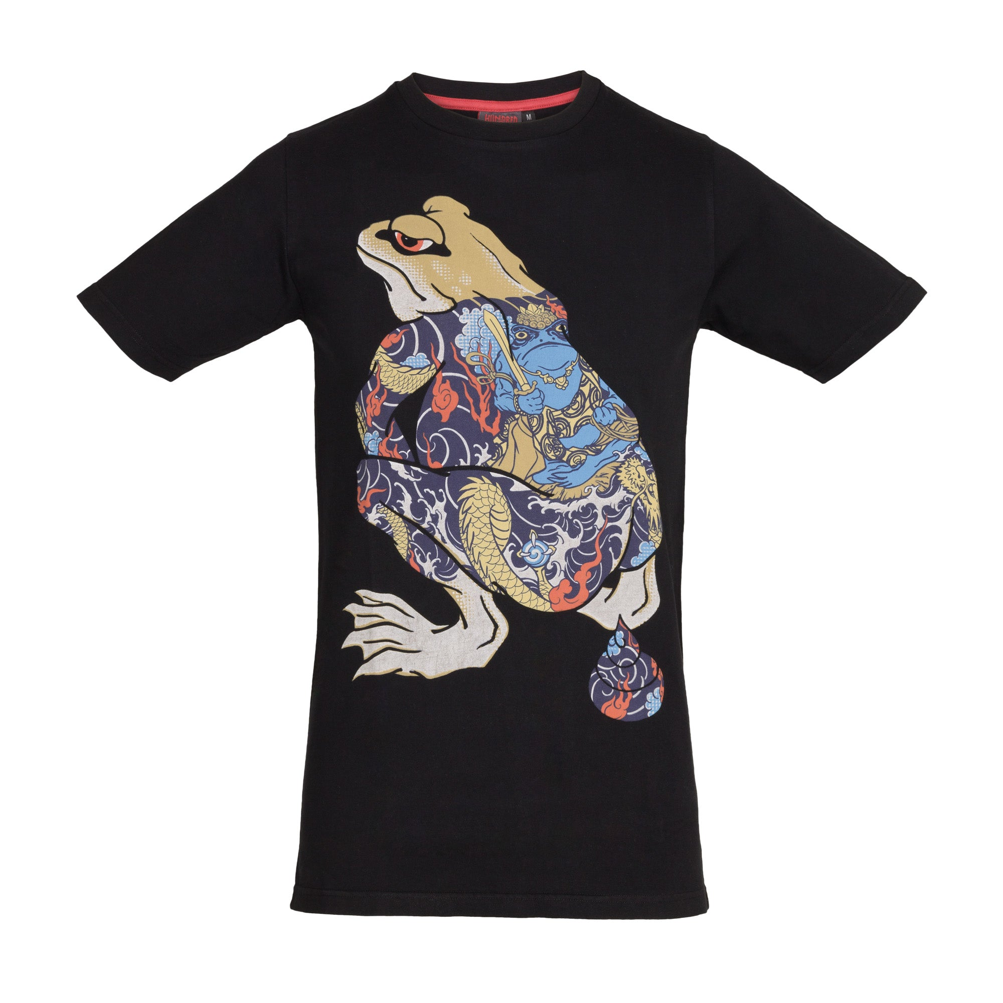 T-Shirt Shiting Frog Black