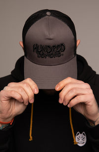 Hats Trucker Hundred Demons
