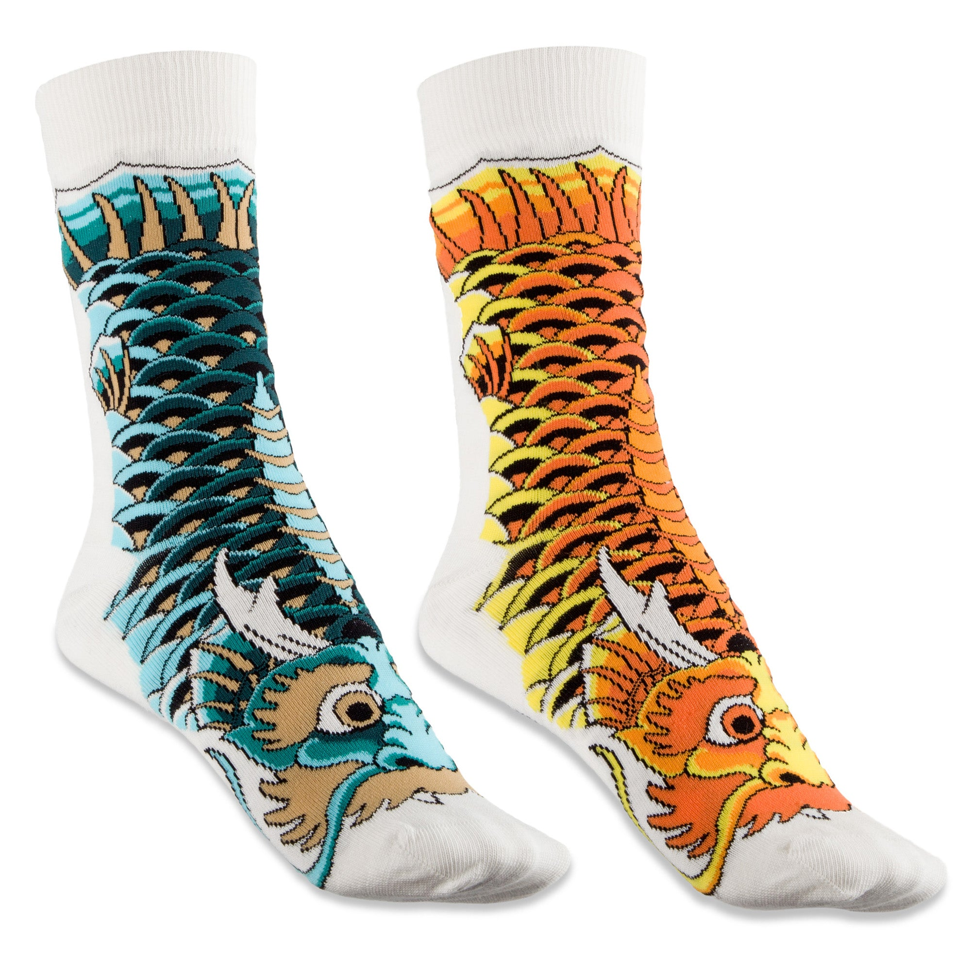 koi Dragon Fish socks pack
